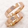 ピンクゴールド 結婚指輪